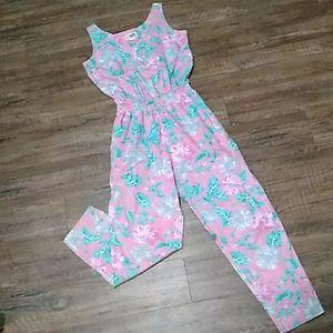 ⭐ flaws vtg. Reyn spooner Hawaiian jumpsuit